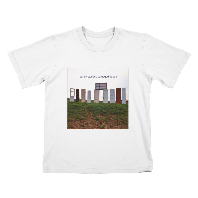 Barley Station's 'Damaged Goods' Album Art Products Kids T-Shirt by The Barley Station Store
