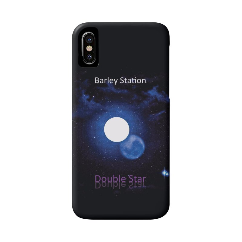 Barley Station's 'Double Star' single cover products Accessories Phone Case by The Barley Station Store