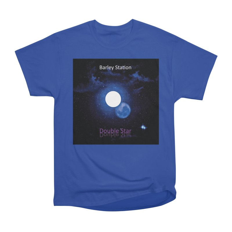 Barley Station's 'Double Star' single cover products Women's Heavyweight Unisex T-Shirt by The Barley Station Store