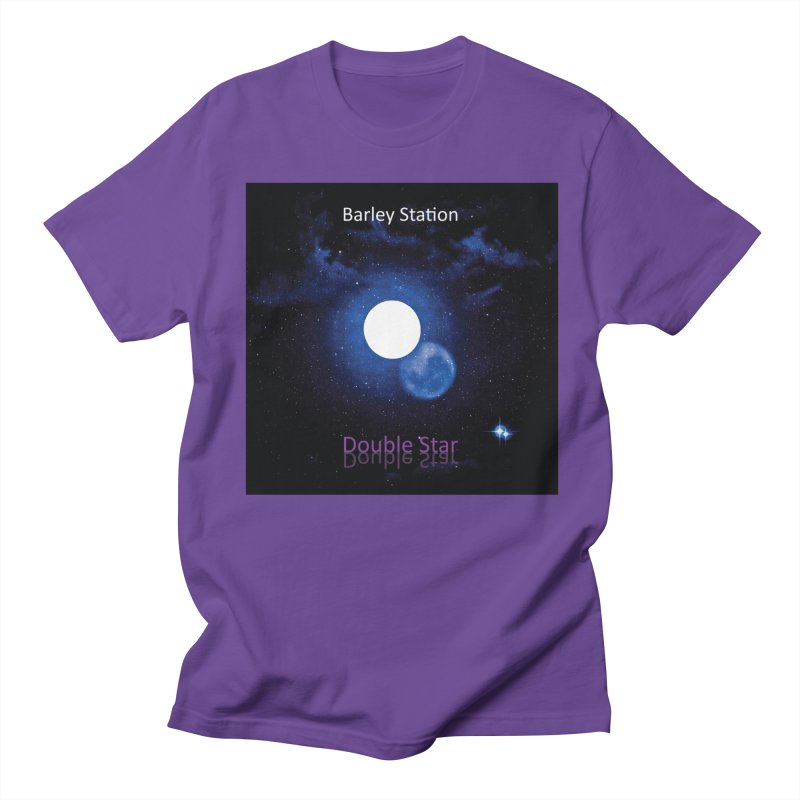 Barley Station's 'Double Star' single cover products Men's Regular T-Shirt by The Barley Station Store