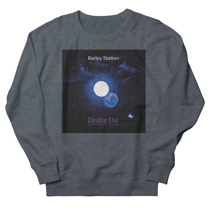 Barley Station's 'Double Star' single cover products Men's French Terry Sweatshirt by The Barley Station Store