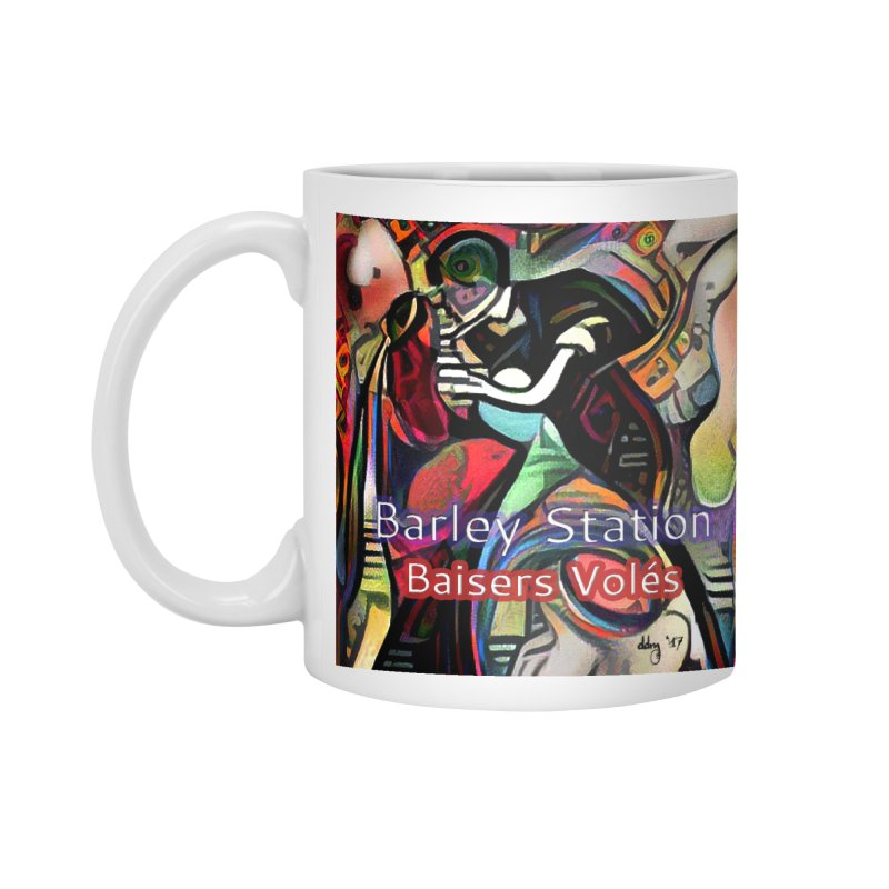 Baisers Volés Design Accessories Mug by The Barley Station Store