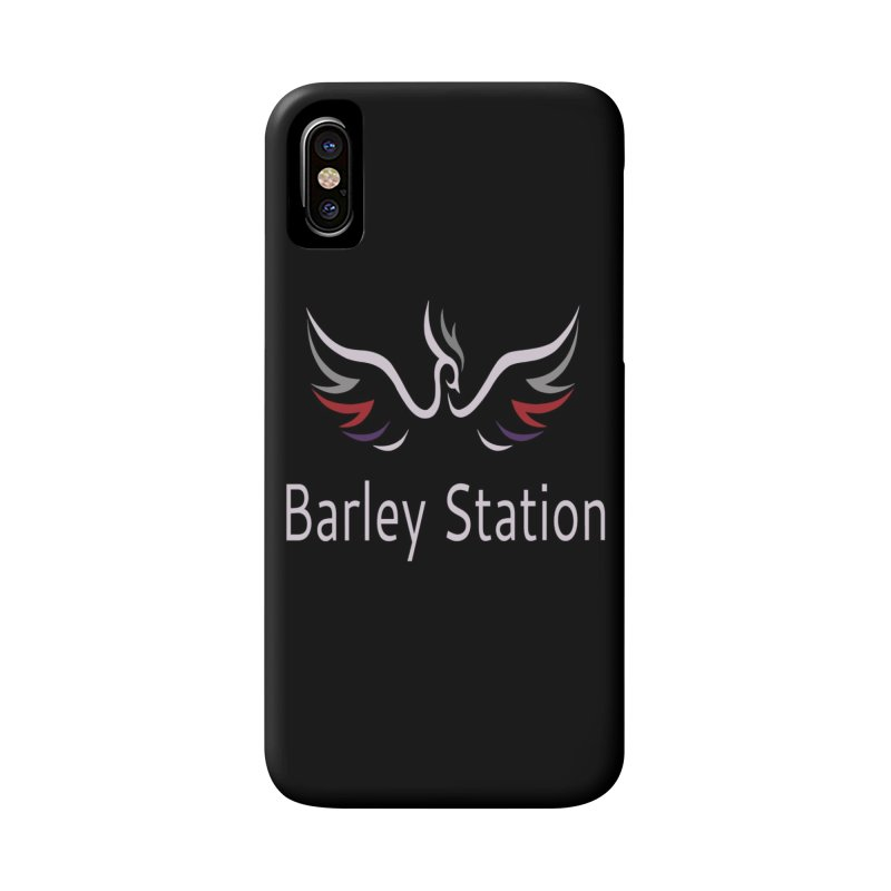 Barley Station Logo Accessories Phone Case by The Barley Station Store