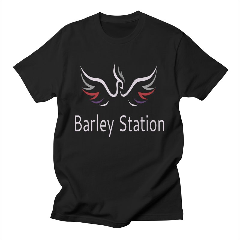 Barley Station Logo Men's T-Shirt by The Barley Station Store