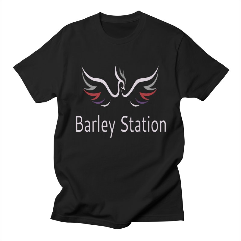 Barley Station Logo Men's Regular T-Shirt by The Barley Station Store