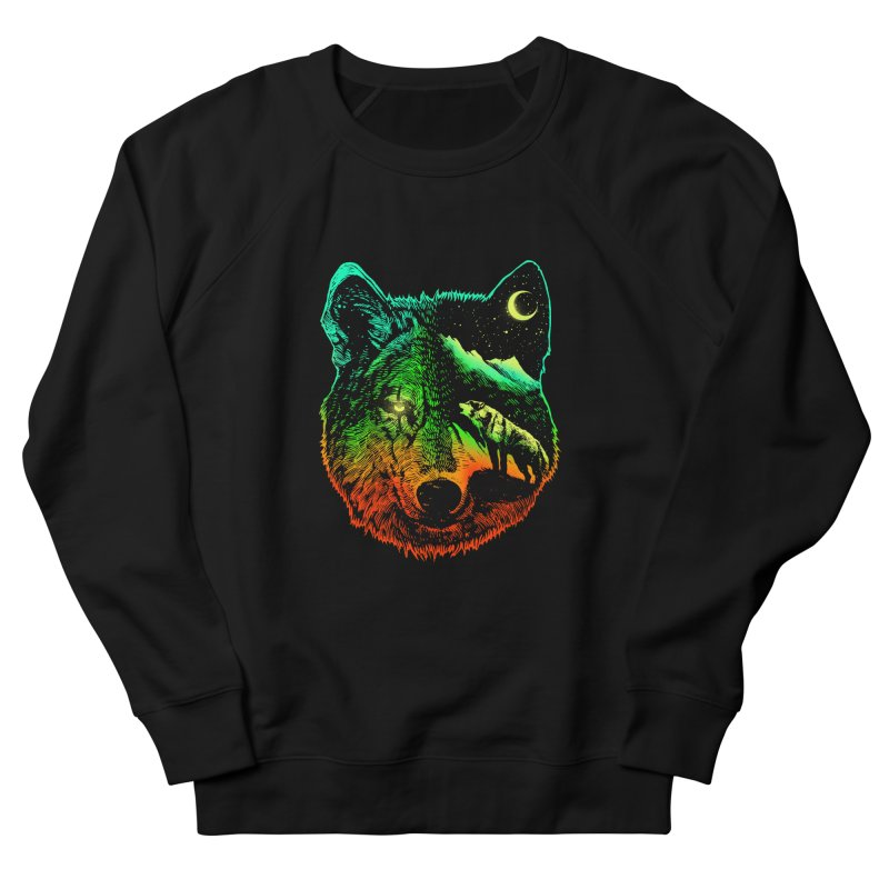 Nightwolf light Men's Sweatshirt by barmalisiRTB
