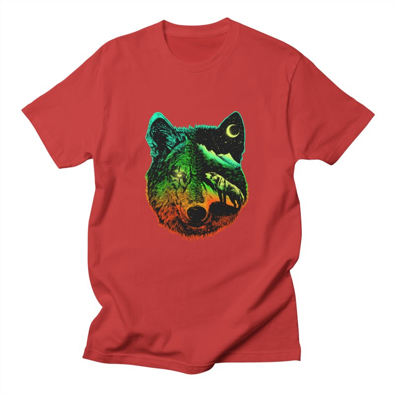 Nightwolf light Men's T-Shirt by barmalisiRTB