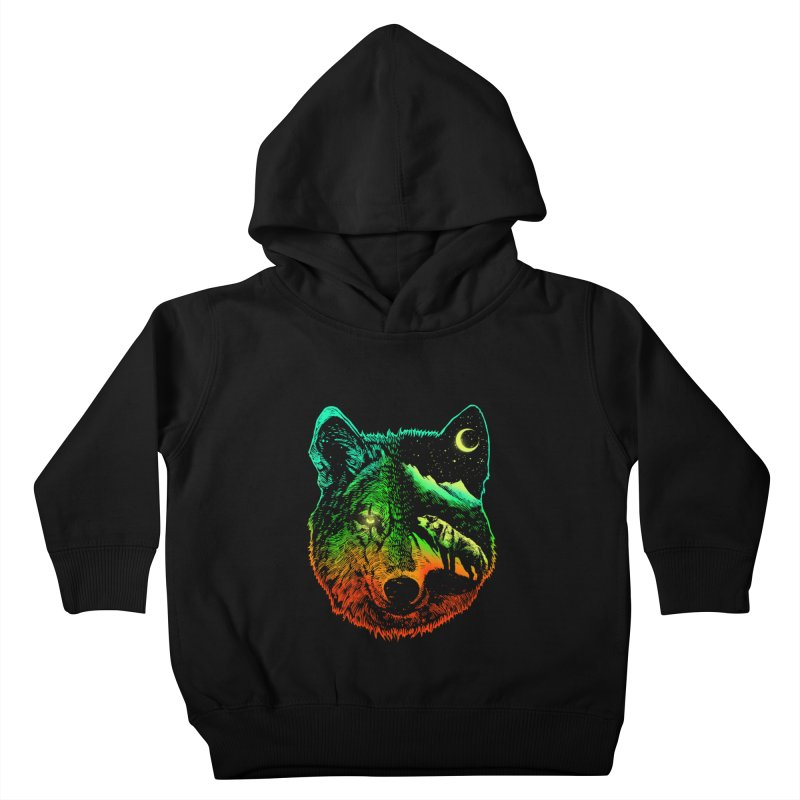 Nightwolf light Kids Toddler Pullover Hoody by barmalisiRTB