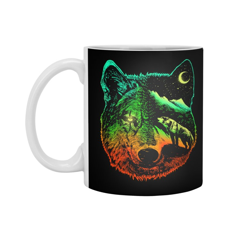 Nightwolf light Accessories Mug by barmalisiRTB