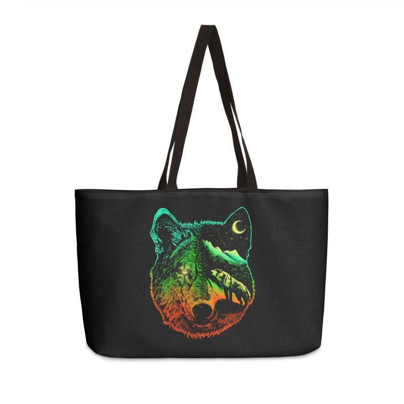 Nightwolf light Accessories Weekender Bag Bag by barmalisiRTB