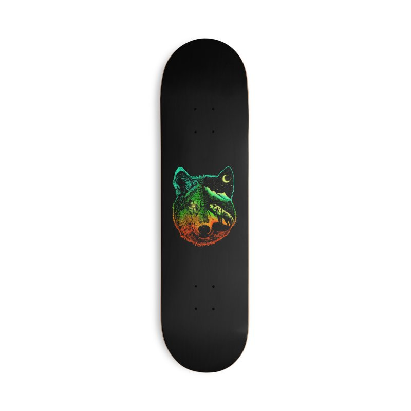 Nightwolf light Accessories Skateboard by barmalisiRTB