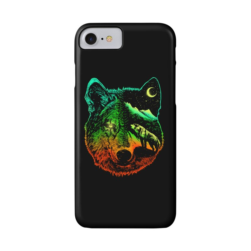 Nightwolf light Accessories Phone Case by barmalisiRTB