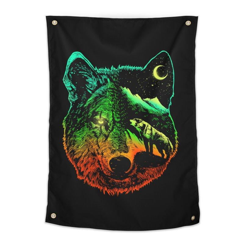 Nightwolf light Home Tapestry by barmalisiRTB