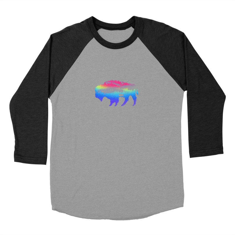 Bison nature Men's Longsleeve T-Shirt by barmalisiRTB