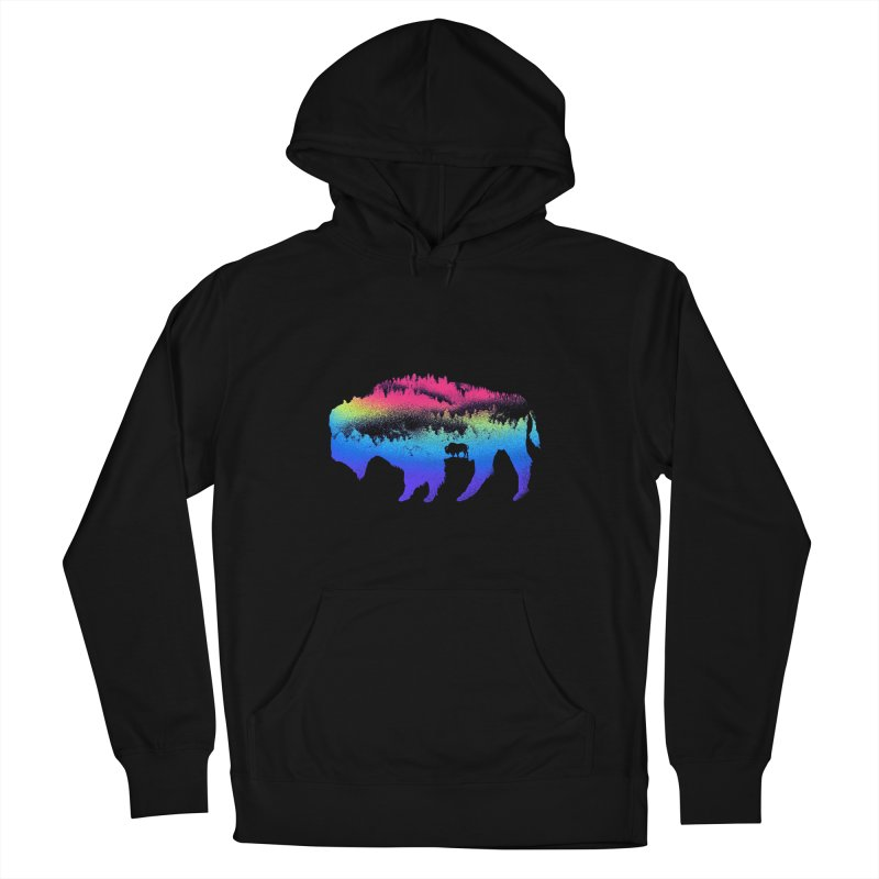 Bison nature Women's Pullover Hoody by barmalisiRTB