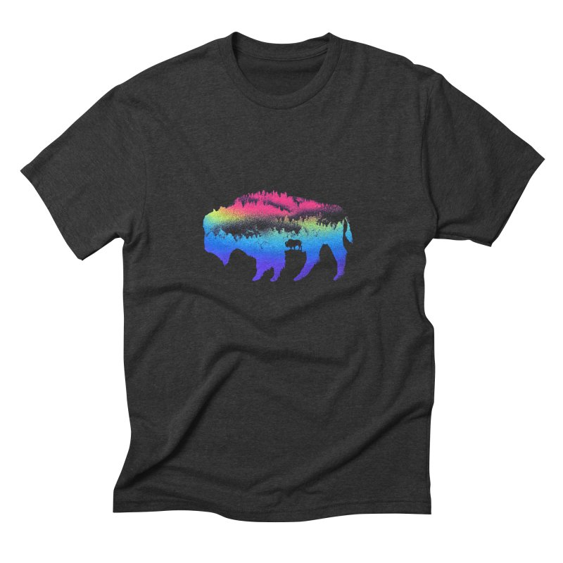 Bison nature Men's T-Shirt by barmalisiRTB