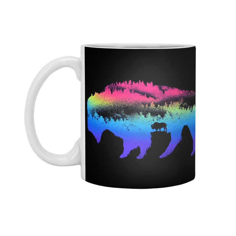 Bison nature Accessories Mug by barmalisiRTB
