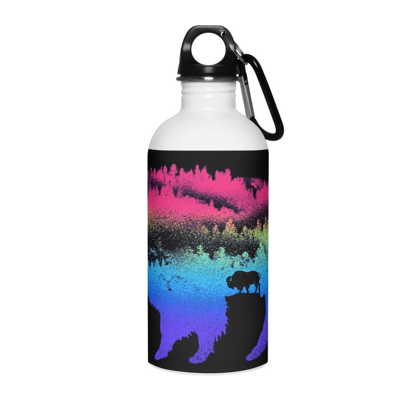 Bison nature Accessories Water Bottle by barmalisiRTB