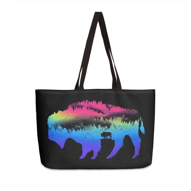 Bison nature Accessories Weekender Bag Bag by barmalisiRTB