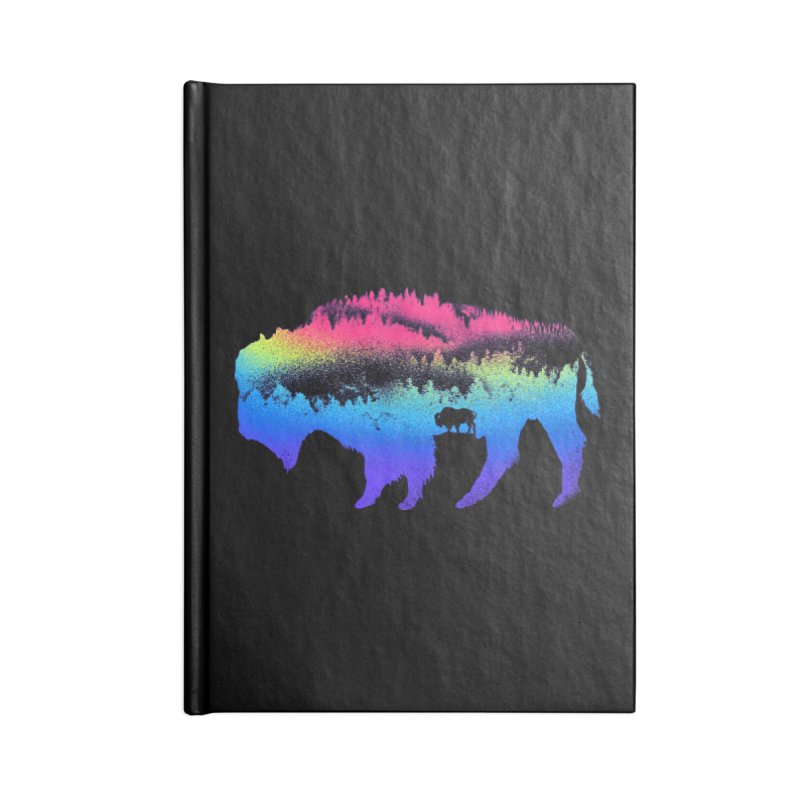 Bison nature Accessories Lined Journal Notebook by barmalisiRTB