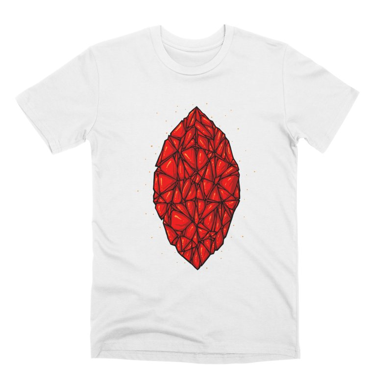 Red diamond Men's Premium T-Shirt by barmalisiRTB