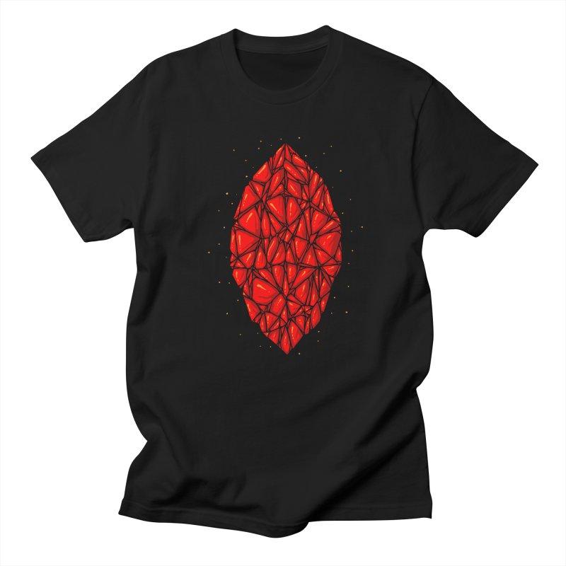 Red diamond Women's Regular Unisex T-Shirt by barmalisiRTB
