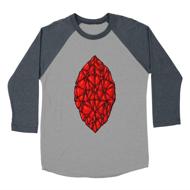 Red diamond Women's Baseball Triblend Longsleeve T-Shirt by barmalisiRTB