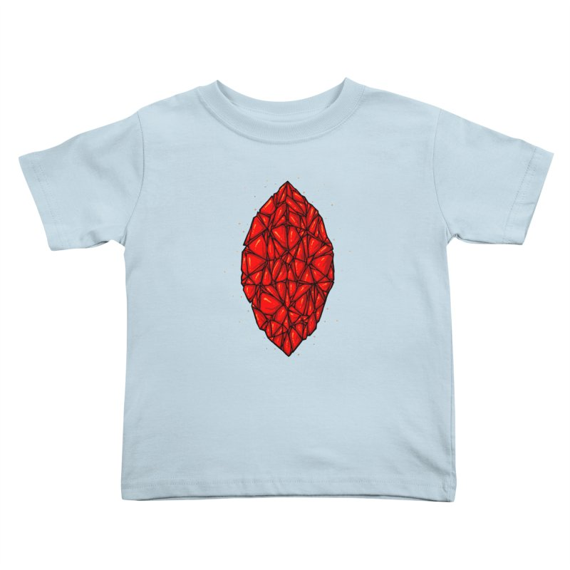 Red diamond Kids Toddler T-Shirt by barmalisiRTB