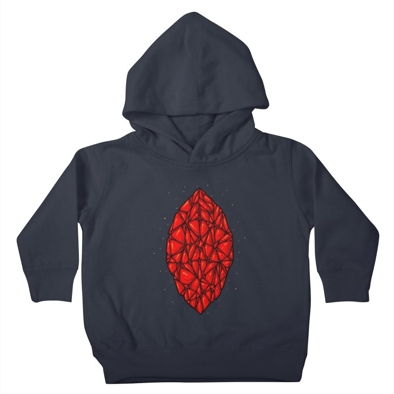 Red diamond Kids Toddler Pullover Hoody by barmalisiRTB