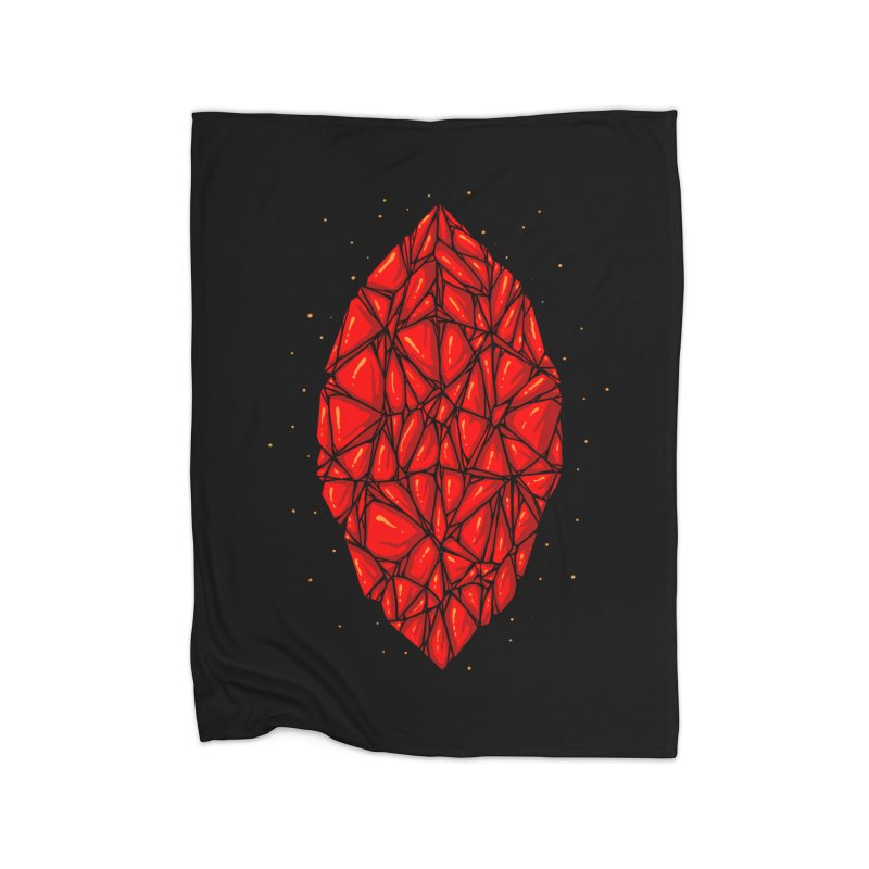 Red diamond Home Blanket by barmalisiRTB