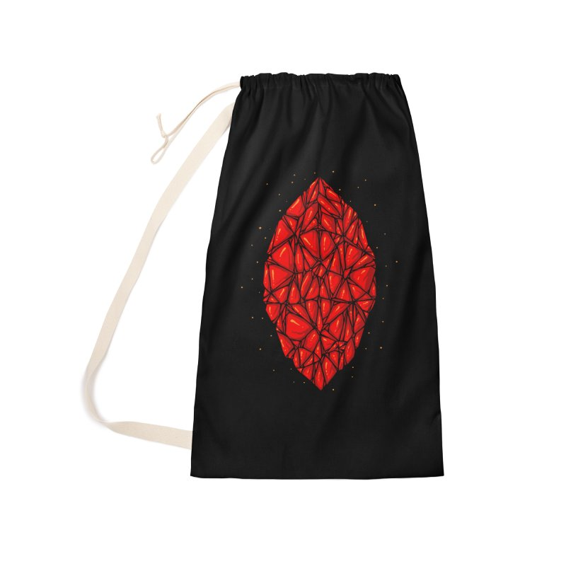 Red diamond Accessories Laundry Bag Bag by barmalisiRTB