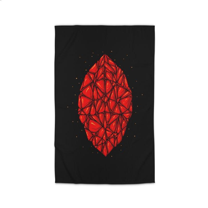 Red diamond Home Rug by barmalisiRTB