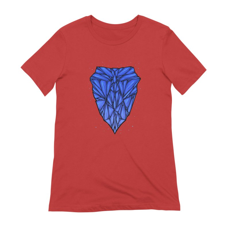 Blue diamond Women's Extra Soft T-Shirt by barmalisiRTB