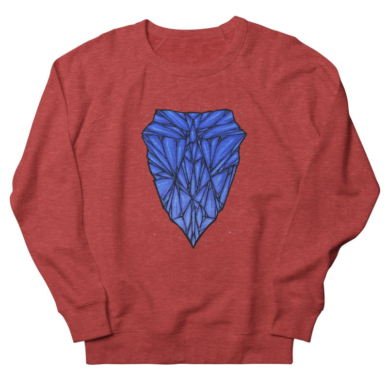Blue diamond Women's French Terry Sweatshirt by barmalisiRTB