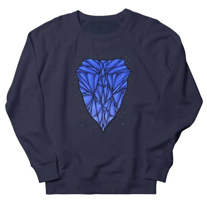 Blue diamond Women's French Terry Sweatshirt by barmalisiRTB