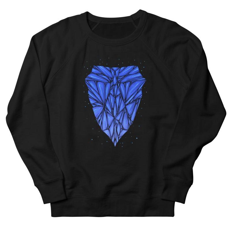 Blue diamond Men's French Terry Sweatshirt by barmalisiRTB