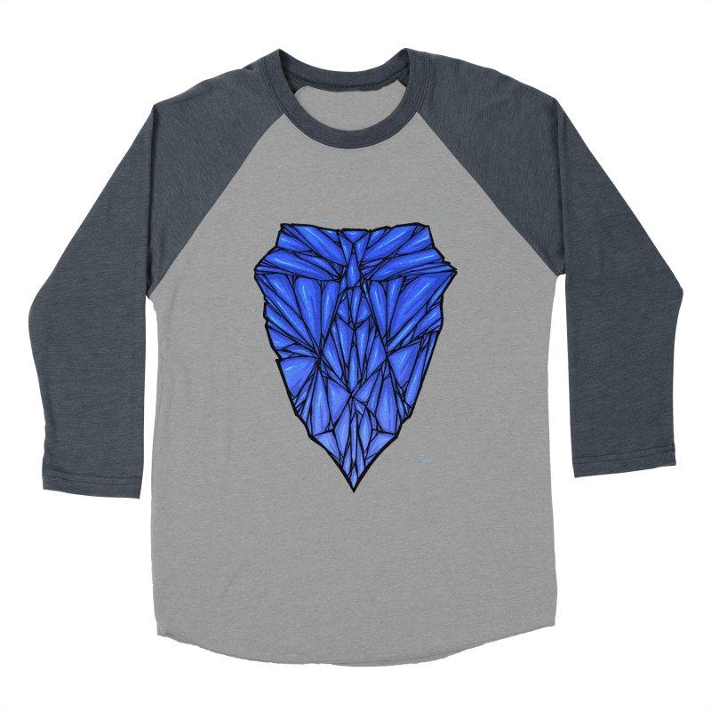 Blue diamond Women's Baseball Triblend Longsleeve T-Shirt by barmalisiRTB