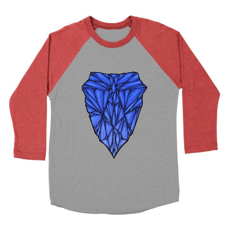 Blue diamond Men's Baseball Triblend Longsleeve T-Shirt by barmalisiRTB