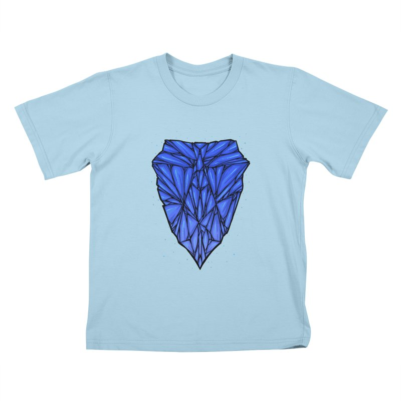 Blue diamond Kids T-Shirt by barmalisiRTB