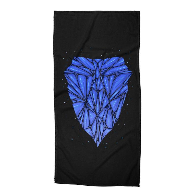 Blue diamond Accessories Beach Towel by barmalisiRTB