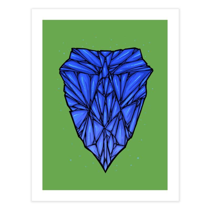 Blue diamond Home Fine Art Print by barmalisiRTB