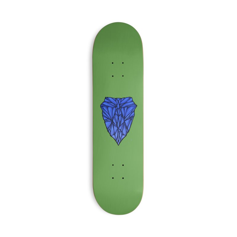 Blue diamond Accessories Deck Only Skateboard by barmalisiRTB