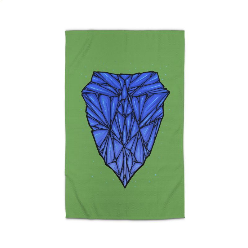 Blue diamond Home Rug by barmalisiRTB