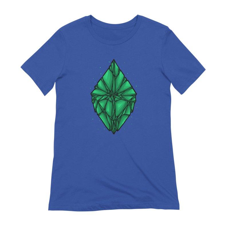 Green diamond Women's Extra Soft T-Shirt by barmalisiRTB