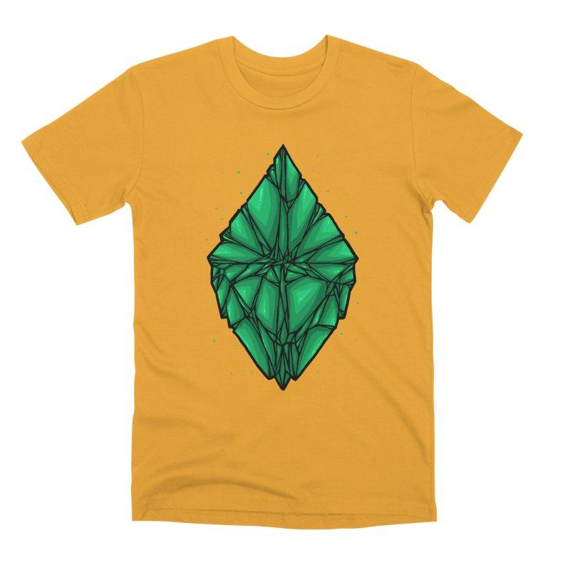 Green diamond Men's Premium T-Shirt by barmalisiRTB