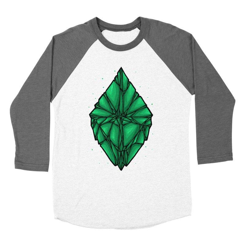 Green diamond Women's Longsleeve T-Shirt by barmalisiRTB