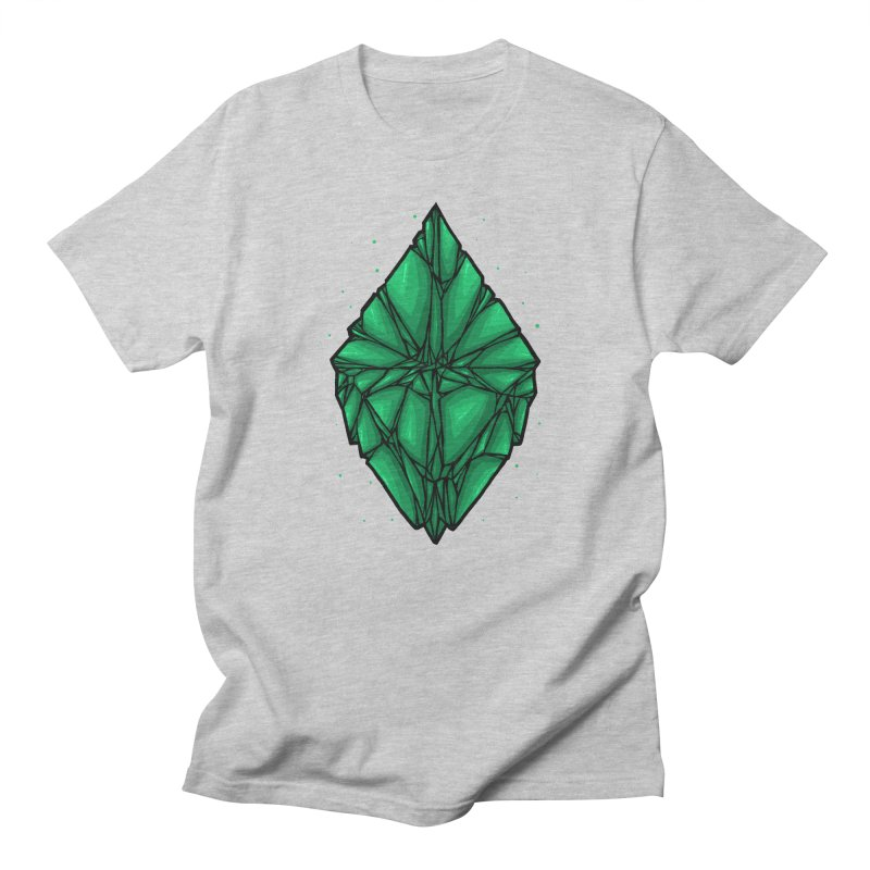 Green diamond Women's Regular Unisex T-Shirt by barmalisiRTB