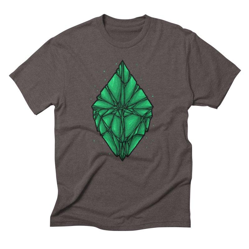 Green diamond Men's Triblend T-Shirt by barmalisiRTB