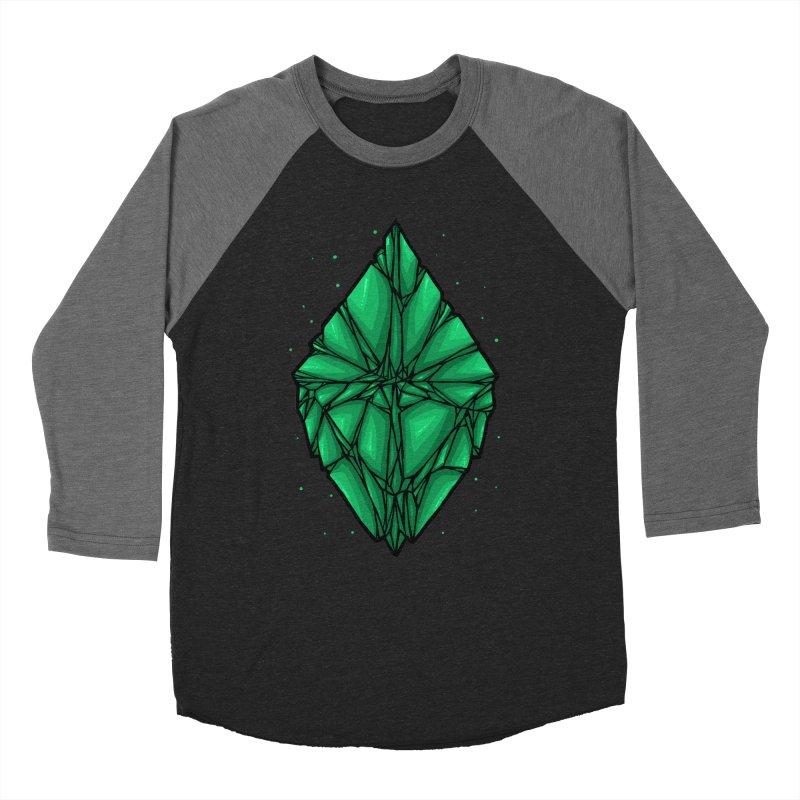 Green diamond Women's Baseball Triblend Longsleeve T-Shirt by barmalisiRTB