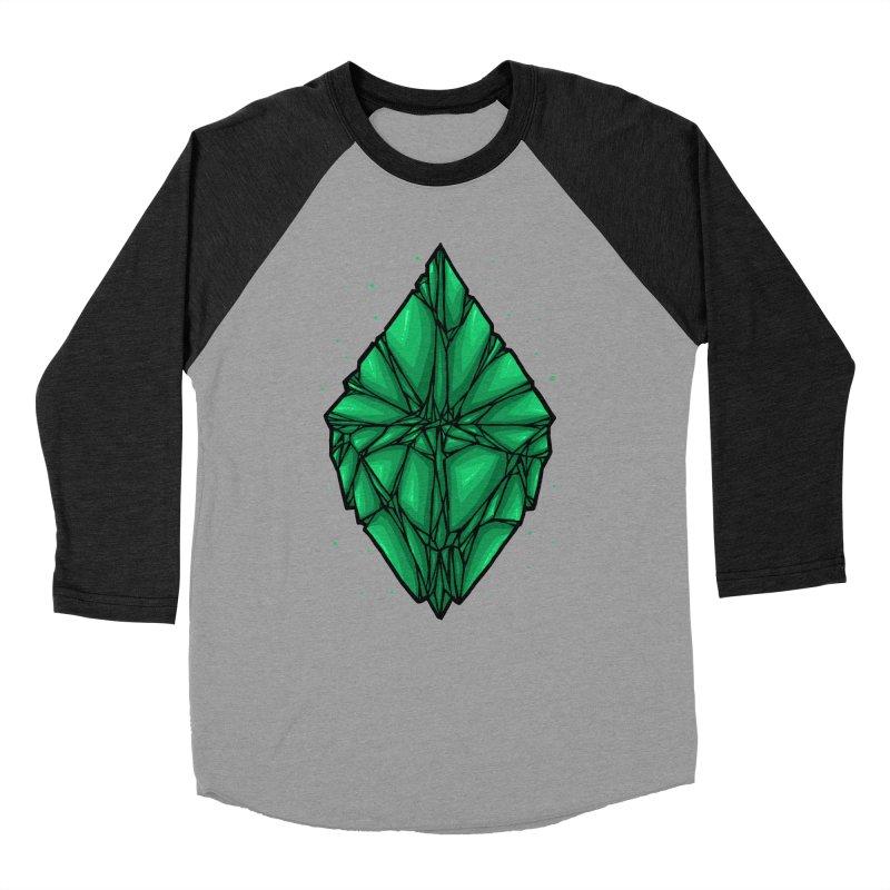 Green diamond Men's Baseball Triblend Longsleeve T-Shirt by barmalisiRTB